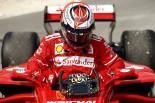 F1 | ライコネン「ターボのトラブルでマシンをとめた。明日以降の予想はできない」フェラーリ F1バーレーン金曜