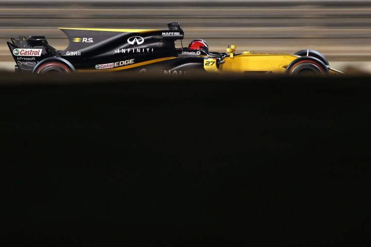 F1 | ヒュルケンベルグ、ハミルトン妨害の件でおとがめなし「スピード差が大きくて驚いた」ルノー F1金曜