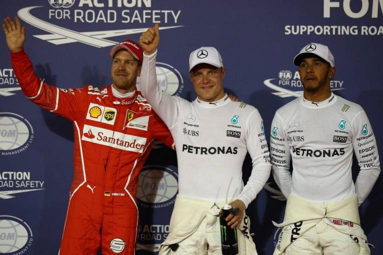 F1 | F1バーレーンGP予選:ボッタスが自身初のポールポジション獲得、アロンソはQ2アタックできず15番手