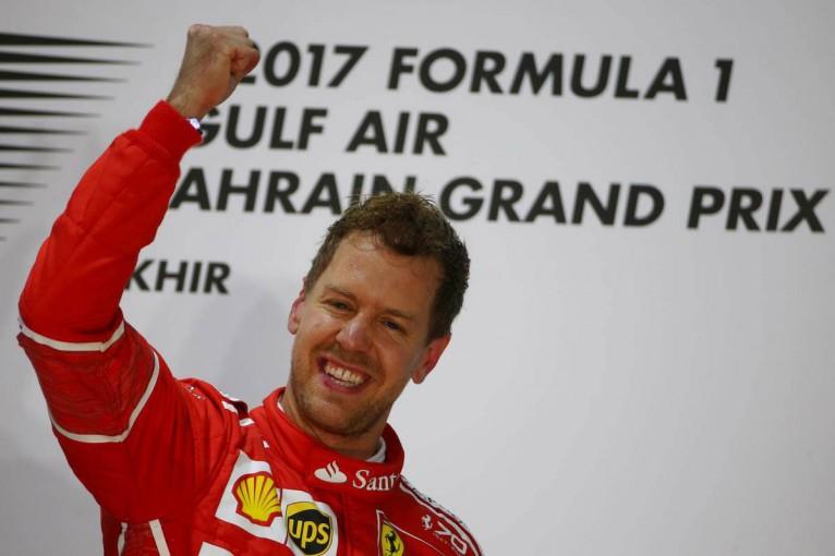 F1バーレーンGP セバスチャン・ベッテルが逆転優勝