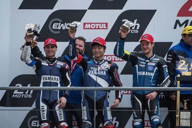 MotoGP | ヤマハの野左根航汰が所属するYARTヤマハがル・マン24時間耐久で2位表彰台獲得