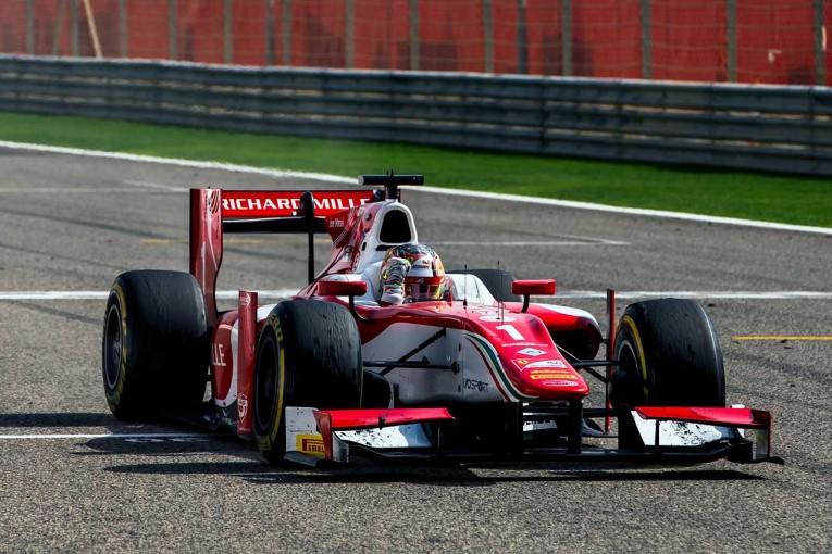 海外レース他 | FIA F2バーレーン第1戦決勝レース2:19歳ルーキーがラスト1周で2台抜きV。松下信治は不運