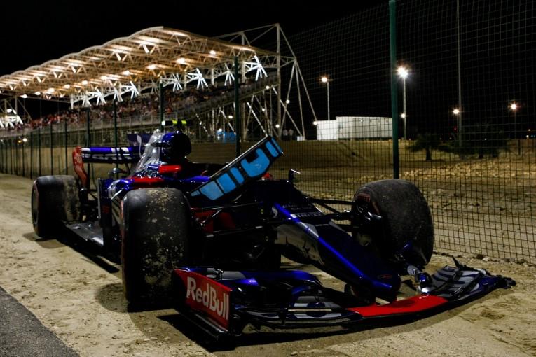 F1 | サインツ「16番手スタートから入賞が見えていたのにクラッシュで台無しに」トロロッソ F1バーレーンGP日曜