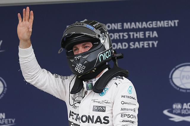 F1 | ロズベルグが4戦連続20回目のポールポジション