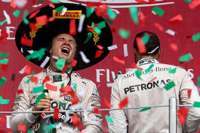F1 | ロズベルグ完勝、フェラーリは不運連鎖でダブルリタイア