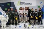 LM-GTEアマクラス表彰式 2017年WEC第1戦シルバーストン