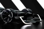 ルノーが発表した2027年のF1コンセプト『R.S.2027 Vision』