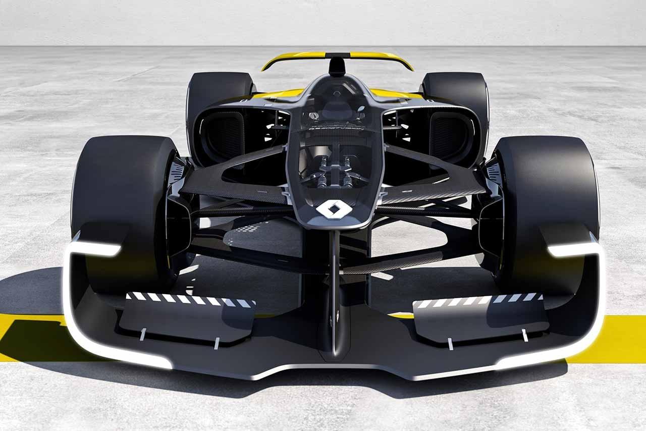 ルノー、2027年のF1マシンコンセプト『R.S.2027 Vision』を発表