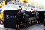 2017年F1バーレーンテスト1日目 ルイス・ハミルトン(メルセデス)