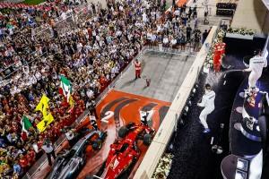 F1バーレーンGP表彰台