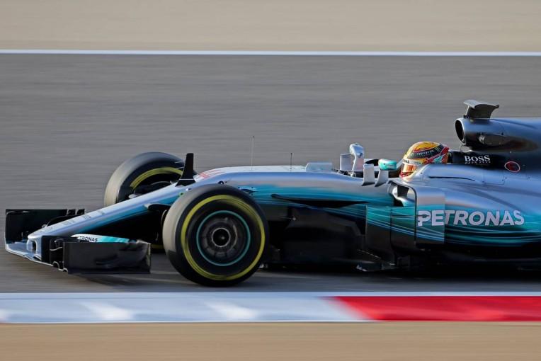 F1 | メルセデスF1、テストではタイヤの使い方が焦点に。ハミルトン「もっと理解を深めたい」