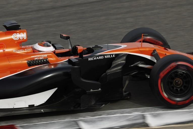 F1 | 【F1合同テスト・タイム結果】マクラーレン・ホンダ、トラブルなく80周以上を走行/バーレーン2日目