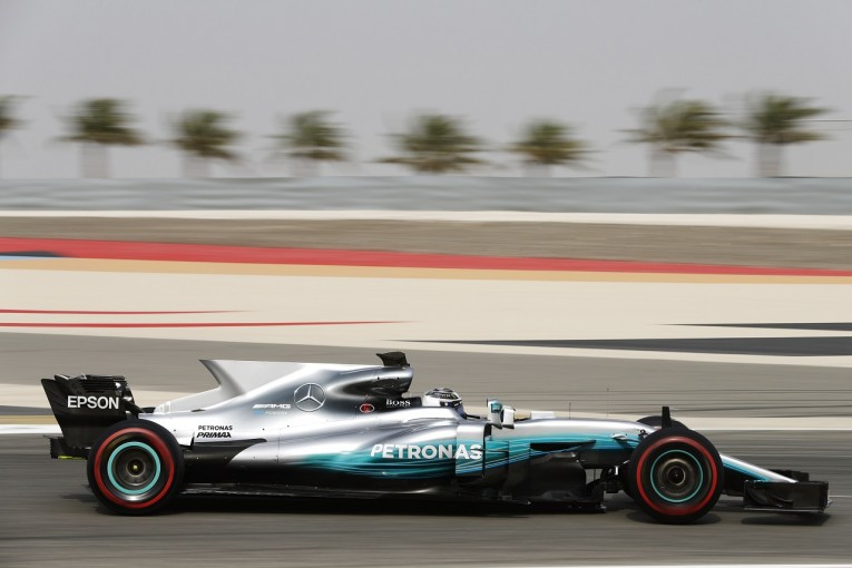 F1 | メルセデス&ボッタス首位、フェラーリにトラブルもベッテルが2位に続く/バーレーンF1合同テスト2日目