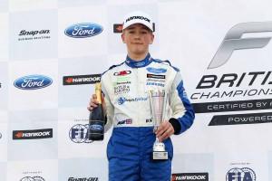 モンガーはブランズハッチで行われた第1ラウンドで3位表彰台を獲得していた