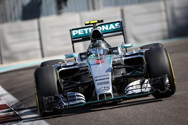 F1   FP3もロズベルグが首位キープ。好調ペレス4番手