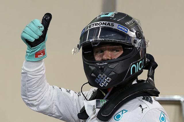 F1   ロズベルグ6戦連続PP。キミがペレスを上回り3番手