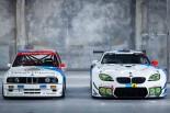 BMWチーム・シュニッツァーがニュル24時間に投入するM6 GT3(右)