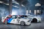 BMWチーム・シュニッツァーのM6 GT3には伝統的なMストライプが斜めに入れられる