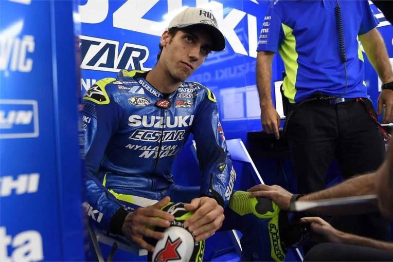MotoGP   MotoGP:負傷欠場しているスズキのアレックス・リンスがバルセロナテストから復帰予定
