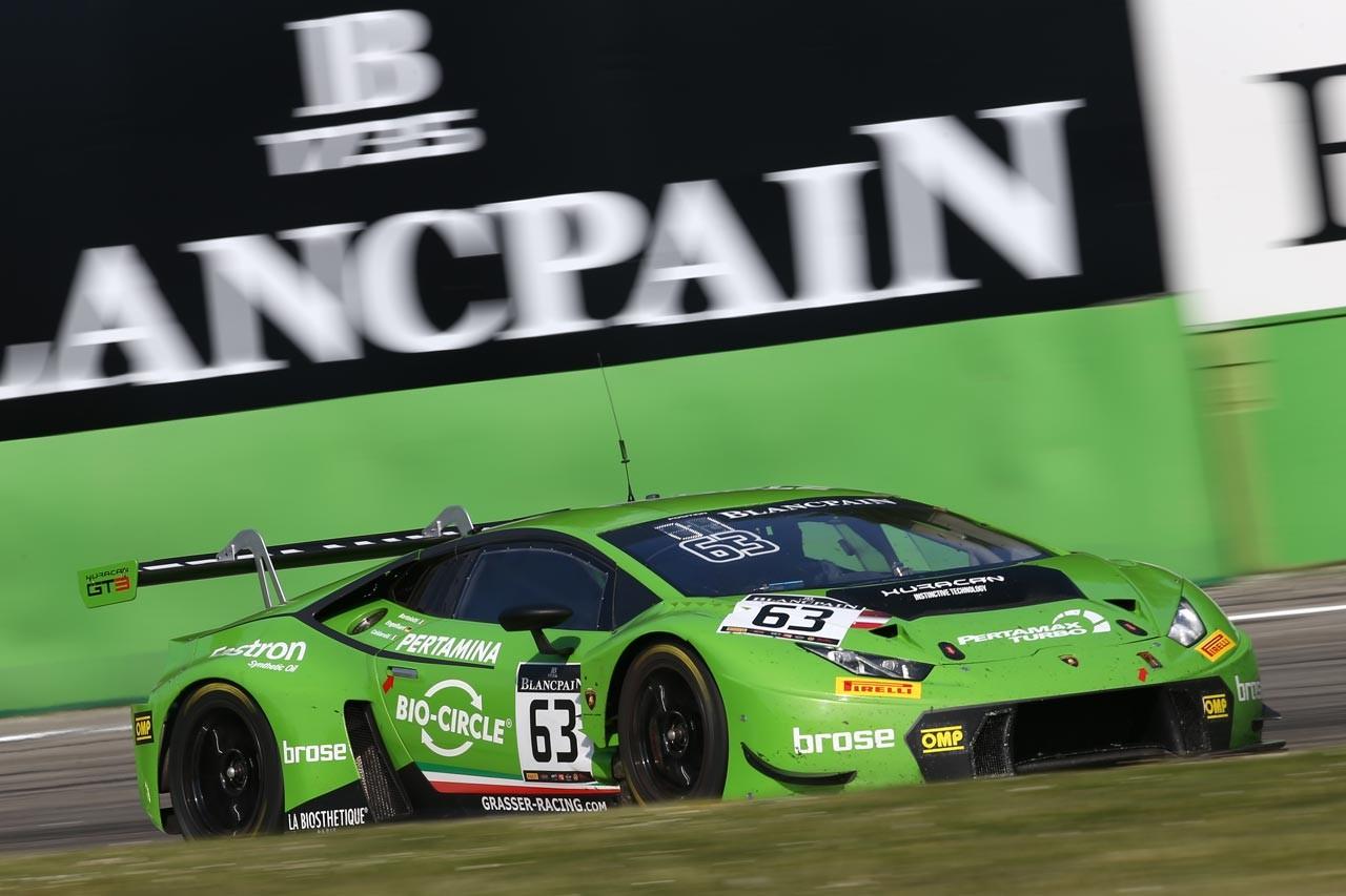 ブランパンGT:耐久開幕戦はカルダレッリ駆るランボルギーニが圧勝。千代勝正組GT-Rは不運なリタイア