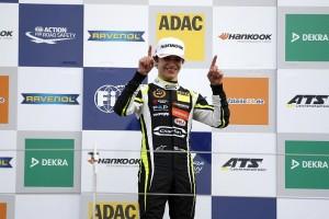 ヨーロッパF3選手権の開幕戦レース1を制したノリス