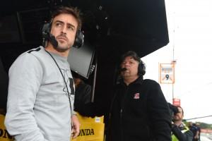 インディカー第3戦バーバー:フェルナンド・アロンソとマイケル・アンドレッティ