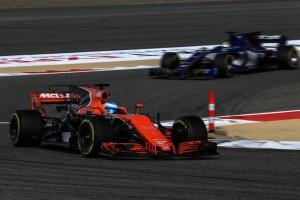 2017年F1バーレーンGP フェルナンド・アロンソ(マクラーレン・ホンダ)