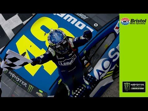 NASCAR:ジミー・ジョンソン、降雨で月曜決勝となった第8戦を制す。通算82勝目