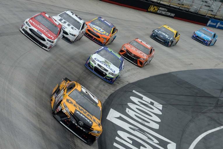 海外レース他 | TOYOTA GAZOO Racing 2017年NASCAR第8戦ブリストル レースレポート