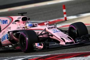 F1バーレーン合同テスト セルジオ・ペレス