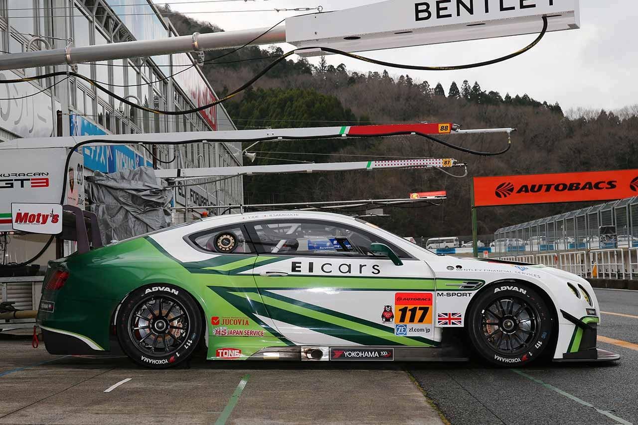 GT300マシンフォーカス:ベントレー・コンチネンタルGT3