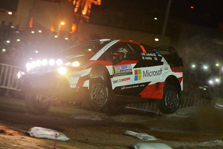 ラリー/WRC | WRC:アルゼンチン未勝利のオジエがトップスタート。トヨタのラトバラは5番手につける