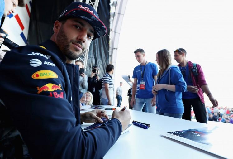 F1 | リカルド「今年のマシンだとかなり速くなりそう」:レッドブルF1ロシアGPプレビュー