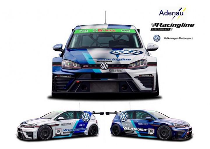 国内レース他   スーパー耐久ST-TCRクラスに新車種登場! AdenauがゴルフGTIを投入へ