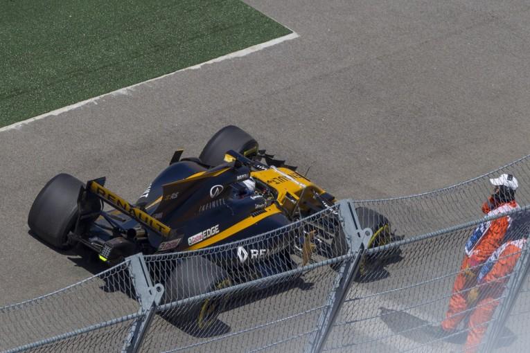 F1   地元シロトキン「全く走れず。でもトラブルが出たのが今日でよかった」:ルノー F1ロシアGP金曜