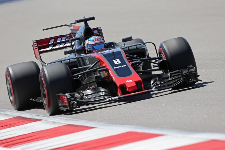 F1 | グロージャン、カーボン・インダストリーを使用も依然として「ブレーキに問題」:ハース F1ロシアGP金曜