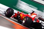 最速タイムを記録したフェラーリのベッテル
