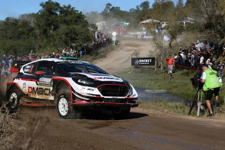 ラリー/WRC   エバンスがトップ維持も後方からヒュンダイ接近。トヨタ5番手/【順位結果】世界ラリー選手権第5戦アルゼンティーナ SS15後