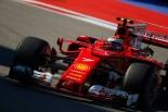 予選2番手を獲得したフェラーリのライコネン