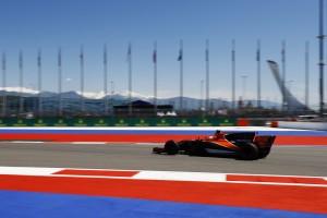 2017年F1第4戦ロシアGP フェルナンド・アロンソ(マクラーレン・ホンダ)