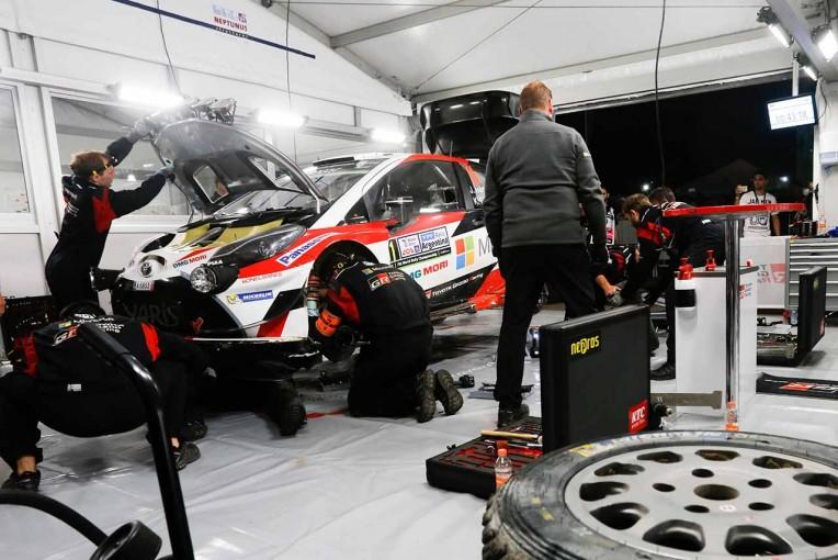 ラリー/WRC   WRCアルゼンチン:トヨタ、2台揃って順位上げる。エンジントラブルの原因特定済み