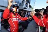 F1 | ポールのベッテル「ついにメルセデスを1列目から追い落とした。『最高』のひと言」フェラーリ F1ロシアGP