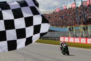 レース1を制したジョナサン・レイ(カワサキ)