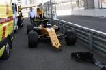 F1 | パーマー「プレッシャーのなか攻めていて、クラッシュした」:ルノー F1ロシアGP土曜