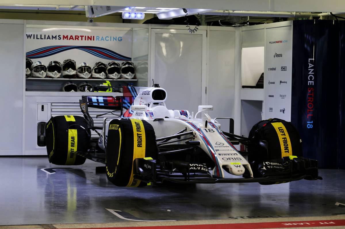 ウイリアムズのランス ストロールのマシン F1ロシアgp決勝レース