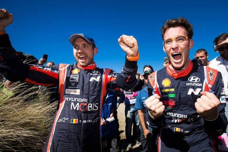 ラリー/WRC | WRCアルゼンティーナ:ヌービルが0.7秒差で激戦制す。トヨタのラトバラは5位入賞
