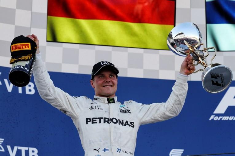 F1 | ボッタス初優勝「集中したいから無線で話しかけないで、と頼んだ。キャリアベストのレース」/F1ロシアGP