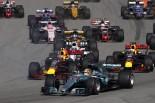 2017年F1第4戦ロシアGP マックス・フェルスタッペン(レッドブル)のスタート