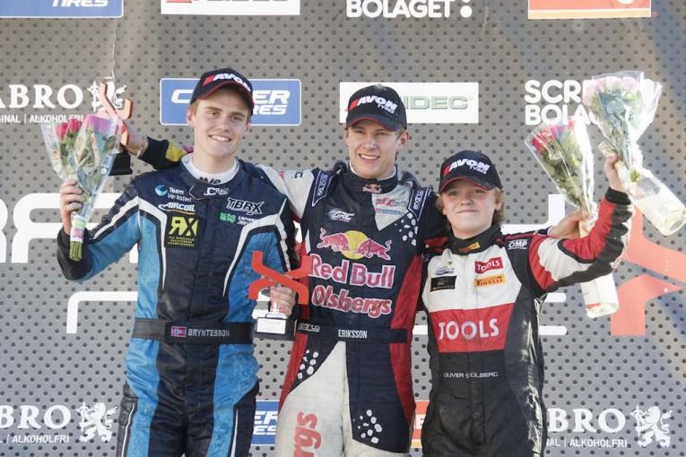 ラリー/WRC | ペターの長男、15歳のオリバー・ソルベルグがRXデビュー戦で3位表彰台獲得
