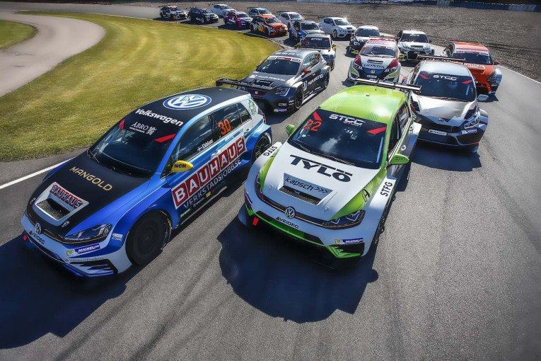 海外レース他 | STCC:テストはエクブロムが最速。新生TCR規定の17シーズンは24台で開幕